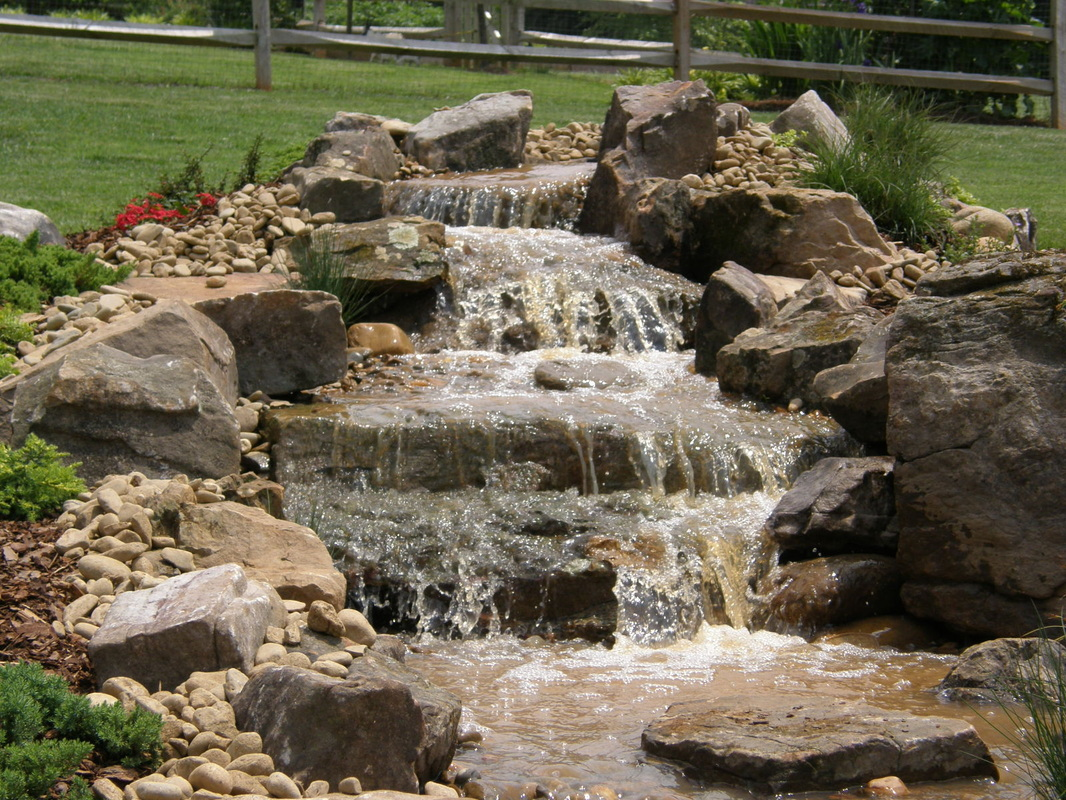 Pondless With Limestone From Quarry